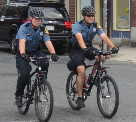 2014 VanBuskirk on Bike Patrol with Tom